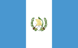 Guatemala flag showing our supply chain software is used there