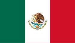 Mexico flag showing our tms software is used there