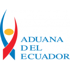 Aduana Del Ecuador logo showing our freight management solutions integrate