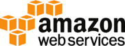 Amazon web services logo showing our compatible logistics systems