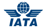 IATA logo showing that our freight forwarding software integrates with their system