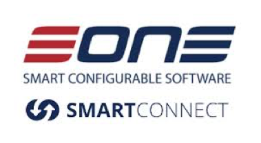 Logo of One software showing our logistics management system integrates with their software