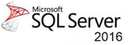 A logo of Microsoft SQL Server showing that our tms software works with sequel