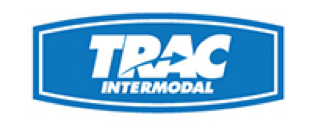 A logo of company called Trac showing that our freight forwarding software integrates with their solutions