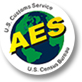logo of AES showing our logistics software integrates
