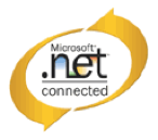 logo of microsoft.net connected showing our logistics software is compatible