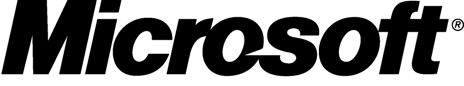 Microsoft logo showing that Silver Bullet's logistics software integrates with Microsoft ERP solutions